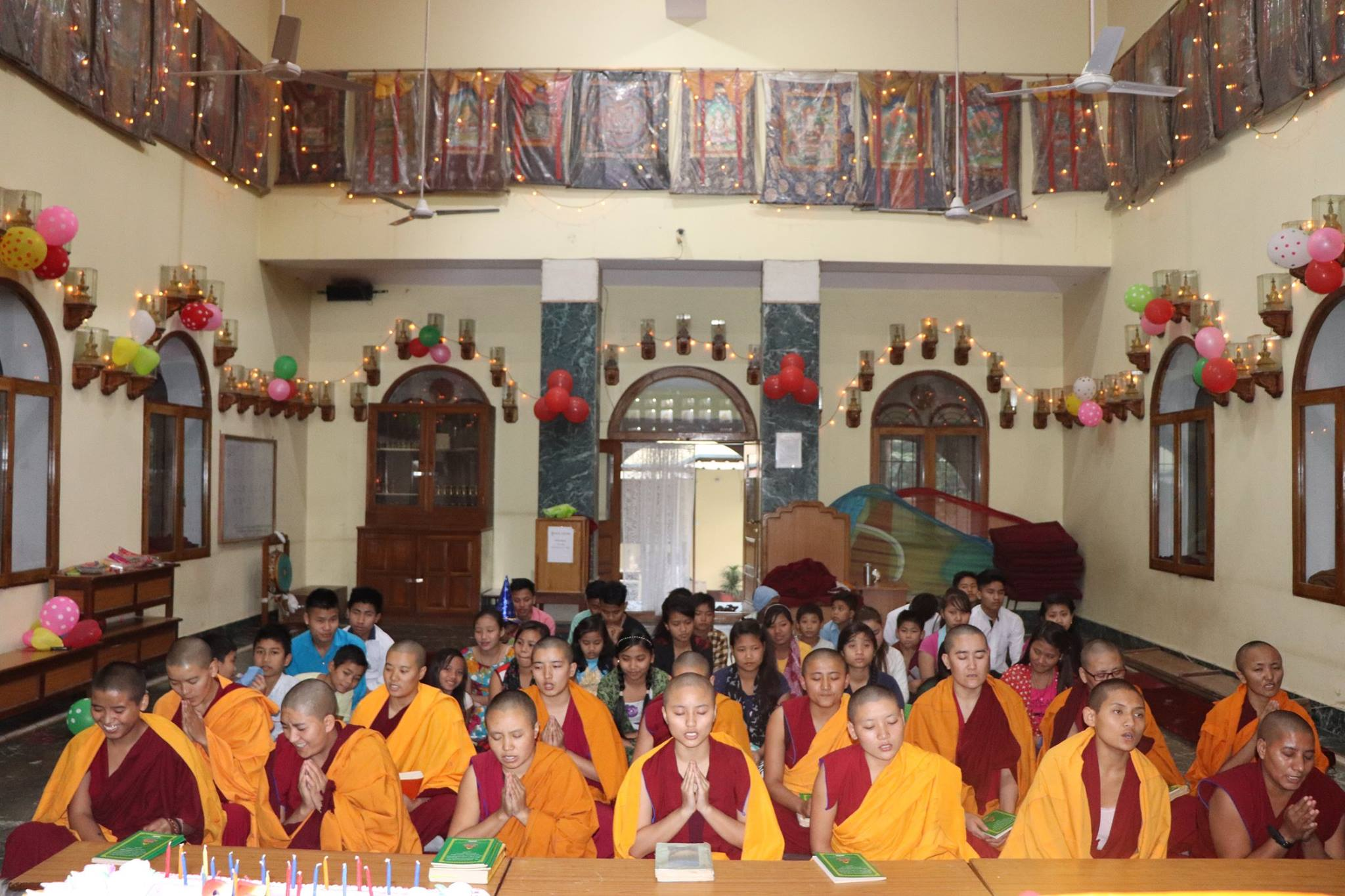 yk gompa all nuns